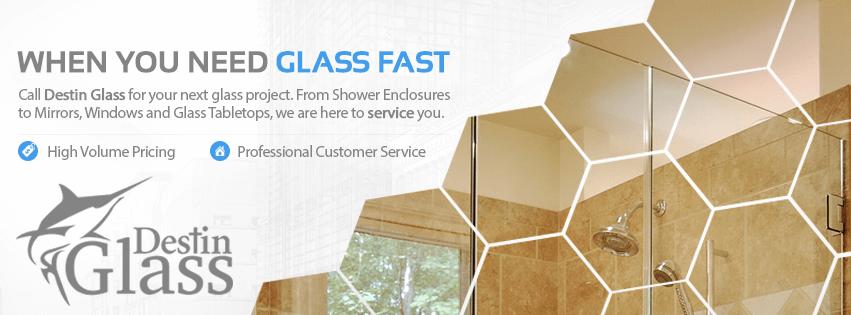 Destin Glass, Niceville Glass, Miramar Beach, Santa Rosa Beach, Ft Walton Beach, Shower Enclosures, Windows, Glass Tables, Tabletops, Mirrors, Auto Glass, Repair Windshield, Glass Repair, Destin, Florida