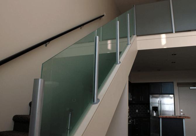 Interior Handrails. GlassHandrailInterior