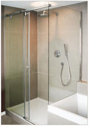 Barn Style Shower 4