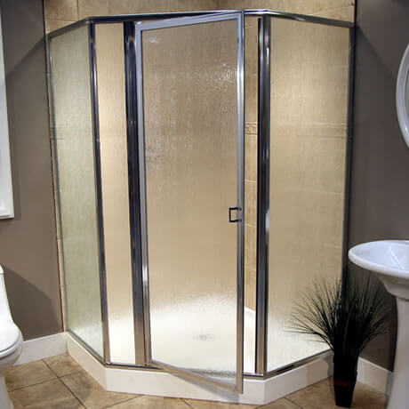 Glass Shower Door Enclosure Installation
