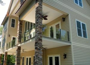 Glass Handrail exterior