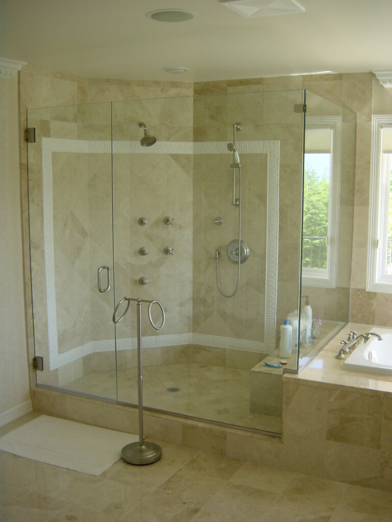 arizona mirrors shower table img az windows door mesa glass phoenix custom tops in repair doors