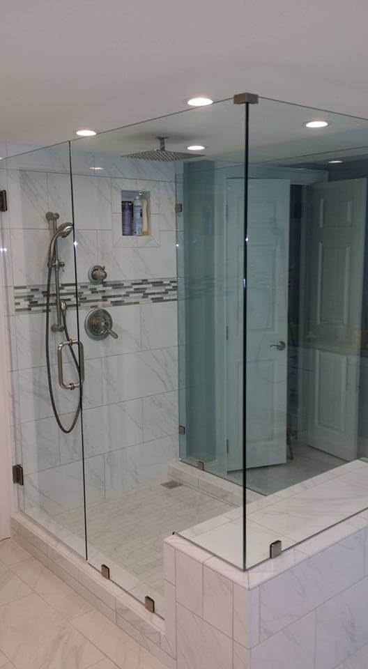 glass shower doors - Frameless Glass Shower Door