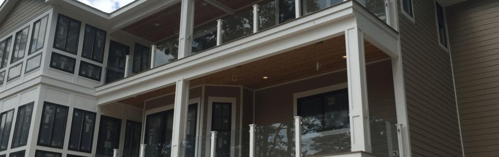 glass handrails fp