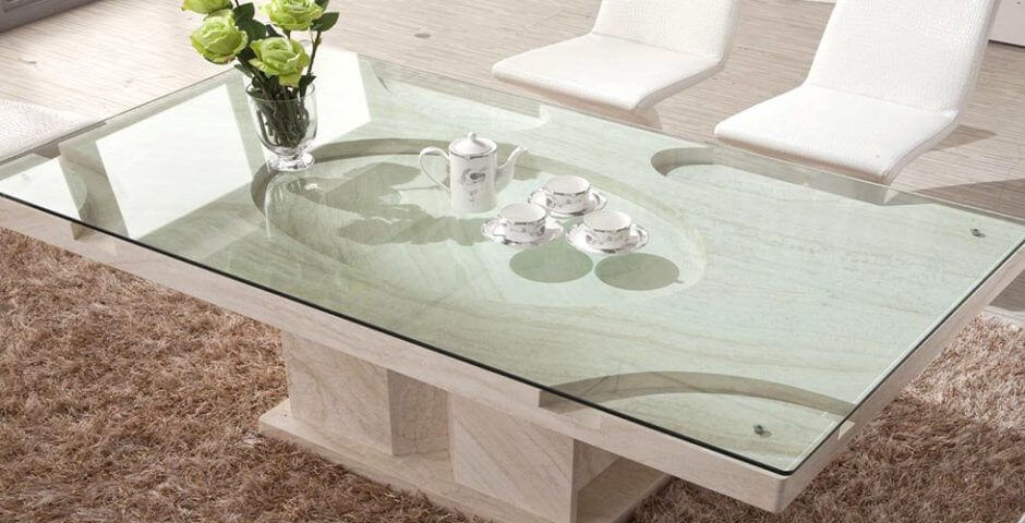 custom glass tabletop