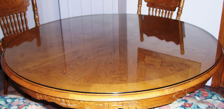 Beau Table Top Glass Protector 1